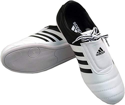 adidas Sports la tortuga–Zapatillas Taekwondo Adidas aditkk01blancas negras