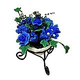 VektenxiPuppenhaus Blumentopf Waage Mini Blumenständer handgefertigt Garten Dekor Szene...