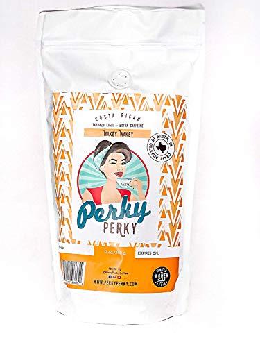 Wakey Wakey ☕ Gourmet Coffee (Light Roast) Whole Bean Costa Rican Beans, ☕ Fresh Tarrazu by Perky Perky