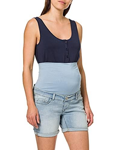 Noppies Jeans Shorts OTB Forest Pantalocini Denim, Vintage Blue-P146, 32 Donna
