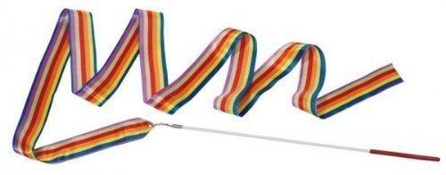 Regenbogen Gymnastikband Wirbelband