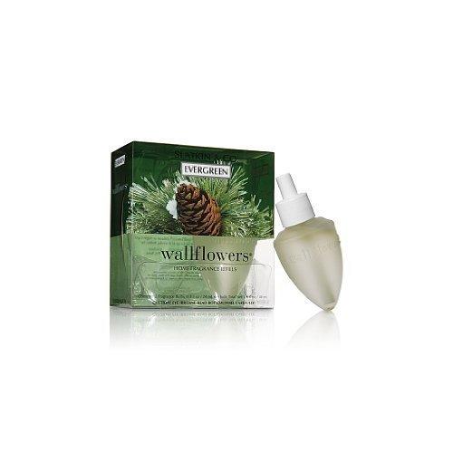 Bath & Body Works Home Fragrance Wallflowers Refill Bulbs (2 ct) EVERGREEN