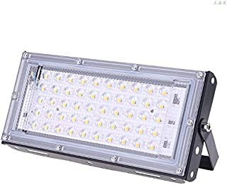 LED Spotlights - LED Floodlight Outdoor Spotlight 50W Wall Washer Lamp Reflector IP65 Waterproof Lighting Garden RGB Flood...
