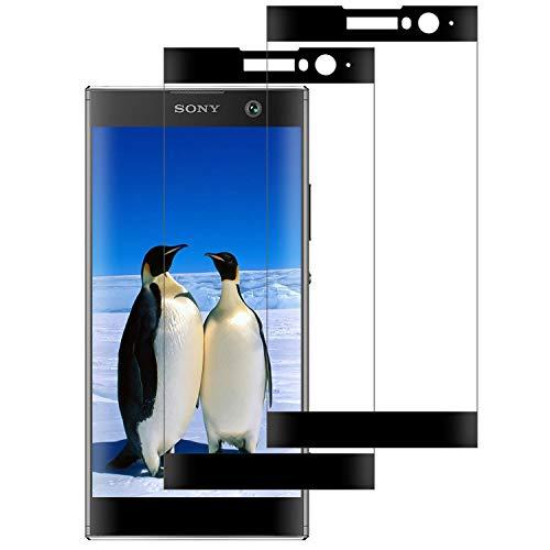 DOSNTO Pellicola Protettiva 3D per Sony Xperia XA2, Vetro Temperato [2 Pezzi] Sony Xperia XA2 [Copertura Completa][HD] [9H][Anti-Graffi][Senza Bolle] Protezione Schermo