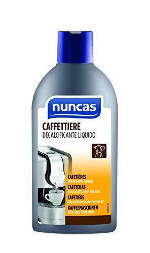 Nuncas Decalcificante Liquido per Caffettiere, 250ml