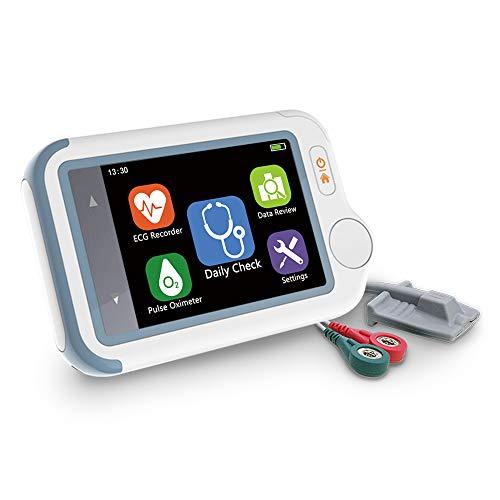 ViATOM Checkme Lite Moniteur Cardiaque, Moniteur ECG Bluetooth,...