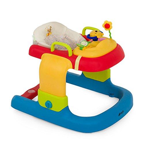 Hauck/ 2 in 1 Walker/ Trotteur Bebe 2 en 1 Disney/ Marcheur de 6 mois à 12 kg/ Evolutif/ Centre d'Éveil et Assise Amovible/ Multifonctions/ Activité/ Pooh Ready to Play (Multicolore)