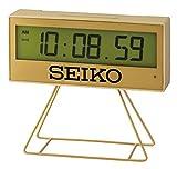Seiko Limited Edition Solo 100 Made Digital Countdown Timer Sveglia Oro Orologio QHL084G Orologi