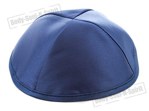 1 Kipà de satén AZULADA sombrero judío cubrecabeza étnica yamaka de Israel gorra