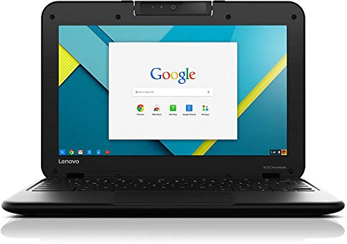 "LENOVO CHROMEBOOK N22 11.6"" INTEL CELERON N3060 1.60 GHZ 4GB RAM 16GB SSD WEBCAM Chrome OS (rinnovato)"