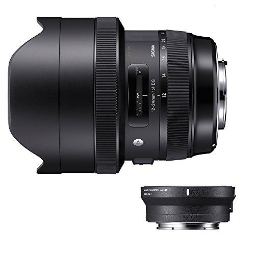 Sigma 205954_89E965 - Kit 12-24 mm F/4 Art EOS + MC-11, Color Negro