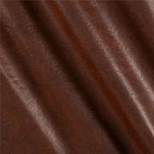 "Plastex Fabrics"" Faux Leather Buffalo, Brown Print"