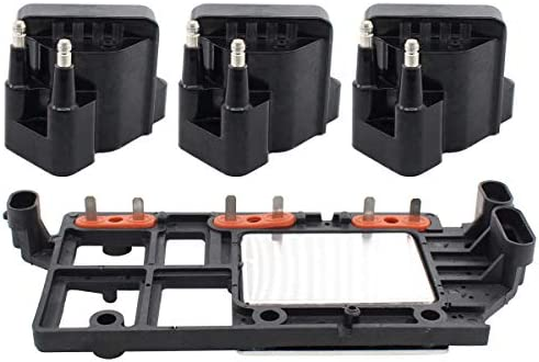 NewYall Set of 4 Ignition Coil and Control Module product image