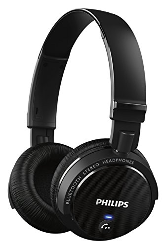 Philips SHB5500BK Cuffie Wireless Semichiuse con...