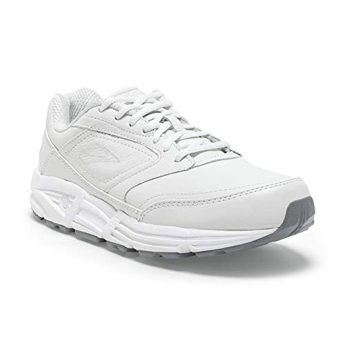 Brooks Women's Addiction, White, 8.5 D - Wide