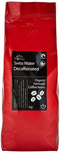 Suma Fairtrade Organic Swiss Water Decaffeinated Coffee Beans 1 kg