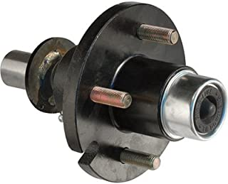 Tie Down Engineering 4-Lug Hub/Spindle End Unit for Build your own Trailer Axle System - 1250-Lb. Capacity Per Hub, Model Number 80115