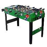 FZYE Futbolín 8 Varillas Mesa de Juego de futbolín, Mini Mesa de fútbol para niños para arcadas, Pub, Sala de Juegos, Juegos de Mesa Arcade