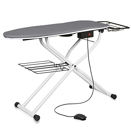 Review Reliable The Board 500VB Home Vacuum and Up-Air Pressing Table Ironing Board, Height Adjustab...