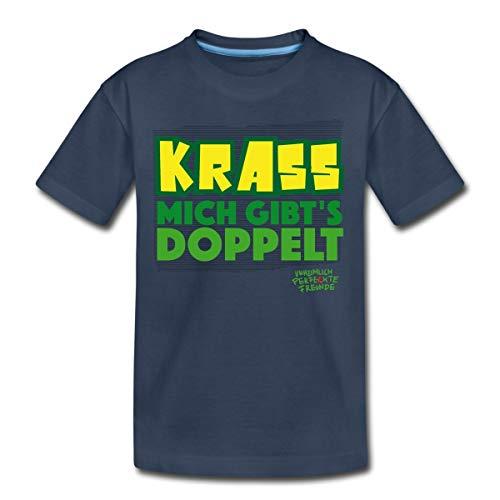 Unheimlich Perfekte Freunde Krass Teenager Premium T-Shirt, 146-152, Navy