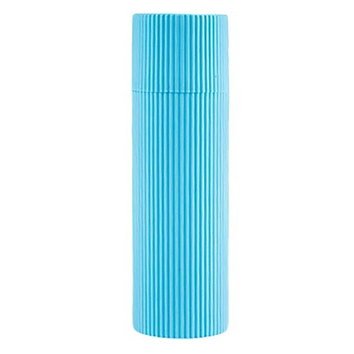 Mmrm Portable Brosse à Dents&Dentifrice Tasse Boîte de Rangement en Plastique Voyage Organisateur Bleu