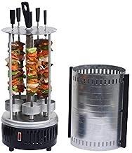 DRULINE Elektrische grill tafelgrill kip gyros döner sjasliekgrill sjasliekspiesen