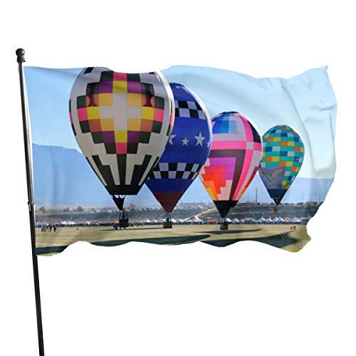 N/A Bandera de la Guardia de los Estados Unidos, banderas de bienvenida con sangre Albuquerque, globo internacional, para fiestas de patio, decoración de patio o aniversario, 3 x 5 pies