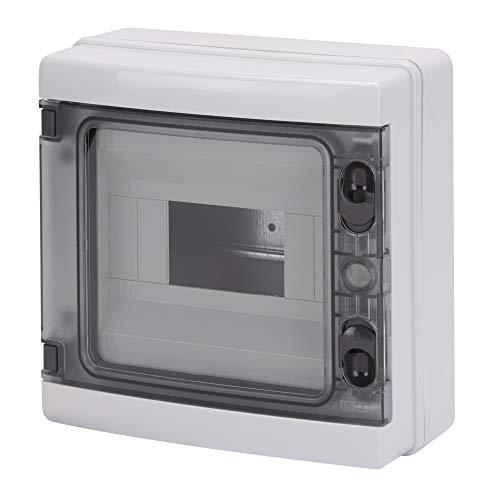 Gewiss - Centralino da Parete Grigio Ral 7035 8 Moduli IP65 GEWISS - GW40102