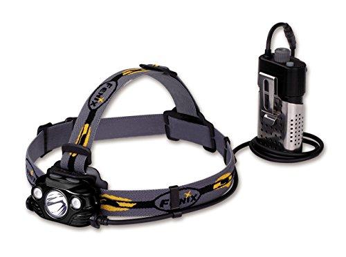 fenix Hombre hp30r Linterna Frontal, Color Negro, tamaño