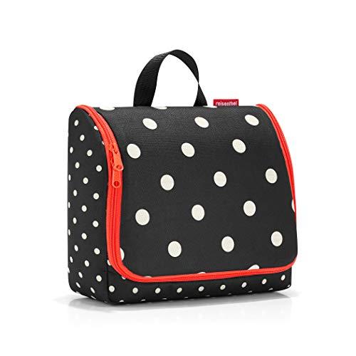 reisenthel toiletbag XL mixed dots Maße: 28 x 25 x 10 cm / Maße: 28 x 59 x 9 cm expanded / Volumen: 4 l