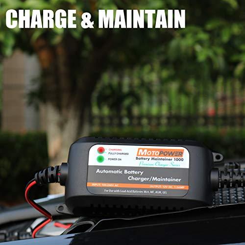 MOTOPOWER『全自動12Vバイクバッテリー充電器(MP00206A)』