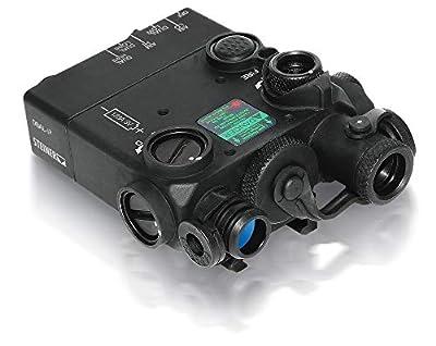 Steiner eOptics Laser Devices Dual Beam Aiming Laser Intelligent DBAL-I2, PEQ-2, IR - Class I, 4mW from Steiner eOptics