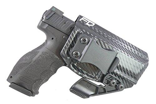 Fierce Defender IWB Kydex Holster H&K VP9 The Paladin Series -Made in USA- (Carbon Fiber)