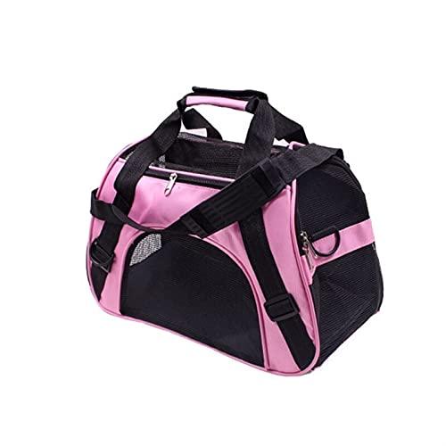 Transportín Gato Perro Viaje portátil que lleva bolsa de perro transpirable impermeable mochila mascota portador perro manija mascotas bolsas de la manija del animal doméstico bolsas de gato al aire l