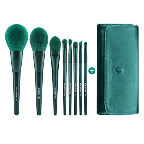 LHY- 8 pièces de Maquillage de Brosse for Les débutants étudiants Doux Set de beauté Brosse Professionnelle Ensemble Complet de Brosses Mode (Color : Green, Size : C)