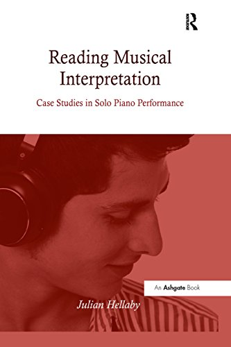 Reading Musical Interpretation: Case Studies in Solo Piano Performance (English Edition)
