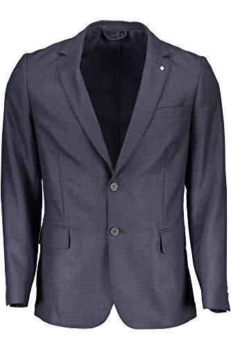 GANT Herren G1. The Washable Elliot Blazer S Sakko, Blau (Persian Blue), 40R (Herstellergröße: 50)