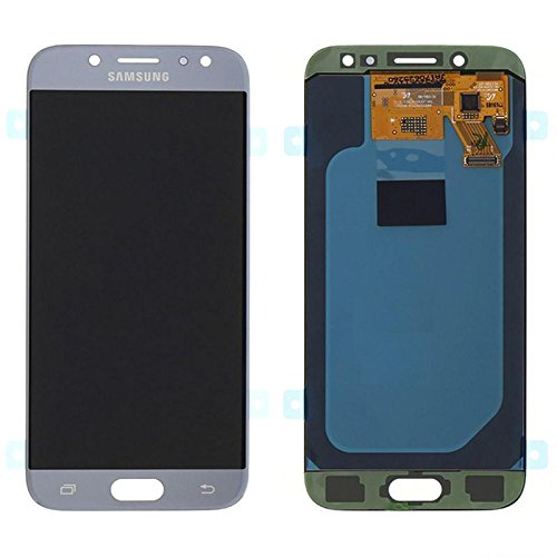 Mr Cartridge Display per Samsung J5 2017 J530 Silver Blue LCD + Touch Originale GH97-20738B