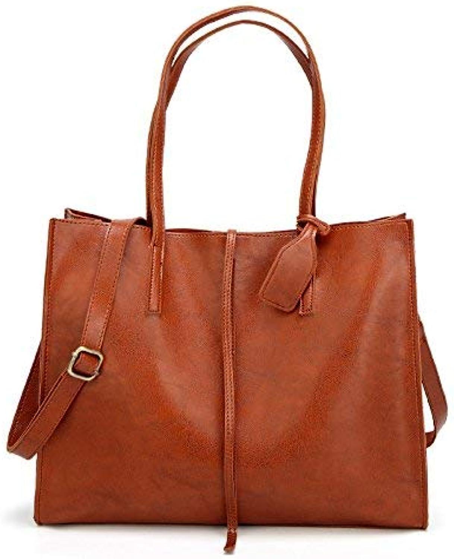 Eeayyygch Umhängetasche Handtaschen mit großer Kapazität Mode Wilde Wilde Wilde Damen Tasche im europäischen und amerikanischen Stil Umhängetasche (Farbe   B) B07K82NM4F 77cf45
