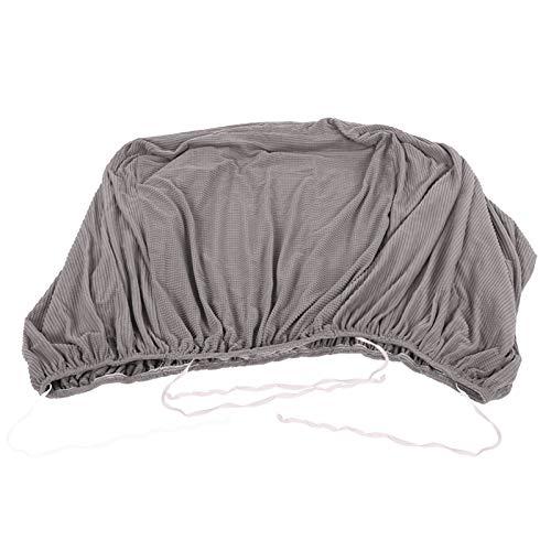 Cómoda funda para sofá de 235-300 cm, funda para sofá con esquinas elásticas, cubre el asiento, los brazos y los respaldos de las sillas, protector de muebles para mascotas, niños(gris claro)