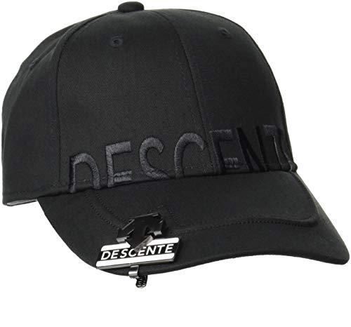 [デサントゴルフ] 【21年春夏モデル】 ボウシ キャップ ゴルフ DGBRJC03 メンズ BK00(ブラック) F