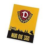 SG Dynamo Dresden Fleecedecke NUR DIE SGD 150 x 200