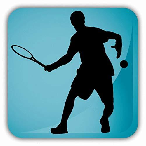 wijn zin muurstickers, Tennis stickers auto sport sticker muursticker naam poster vinyl muursticker wanddecoratie muurschildering tenni58x65cm