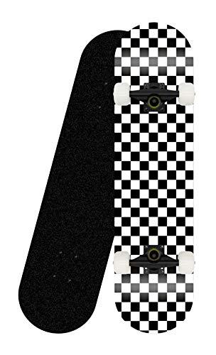 khrodis Komplettes Anfänger-Skateboard, konkaves Skateboard aus 8 Schichten Ahornholz (31