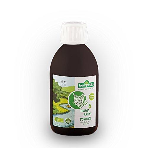 hempetito Omega-aktiv+ Poweröl für Katzen (250 ml)