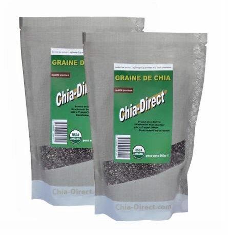 grain de chia Bio 1KG