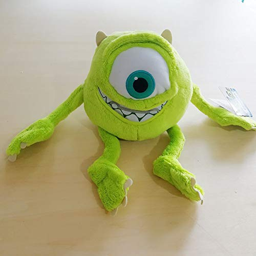 HEAGREN 25CM 9.8 '' Monster Mike Wazowski muñeca de la Felpa Juguetes Mike Monstruos Felpa Suave for Cumpleaños