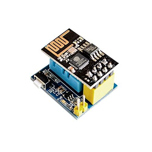 NICEDINING Módulo Controlador ESP8266 ESP-01S 5V WiFi Relay Módulo Cosas Interruptor de Control Remoto Inteligente para Aplicación del teléfono ESP01S Módulo WiFi inalámbrico