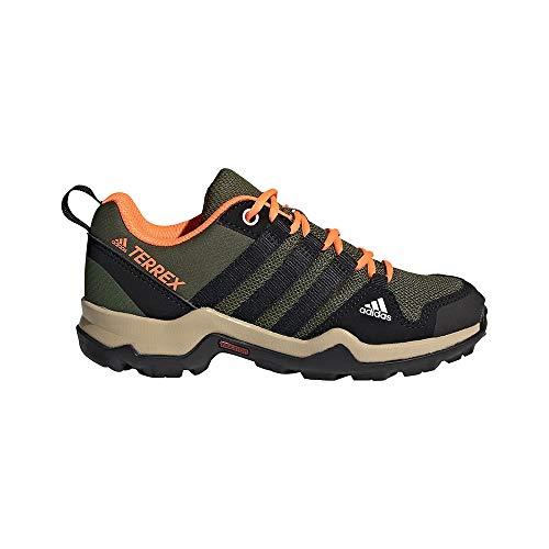 adidas Terrex AX2R K, Zapatillas de Senderismo, PINSIL/NEGBÁS/NARCHI, 31.5 EU