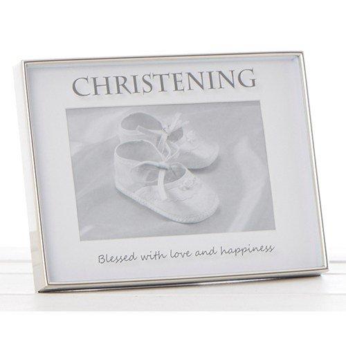 Cadre miroir Inscription christening